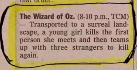 wizard of oz summary